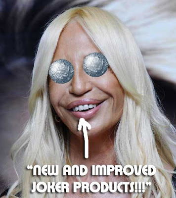 Donatella Versace's Overly Filled Lips And Too-Tight Face Lift