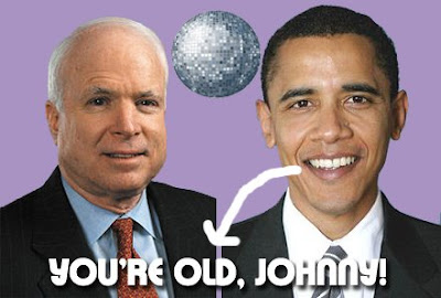 Can A Twenty-Five Year Age Difference And An Older Appearance Aid Barack Obama In Defeating McCain?