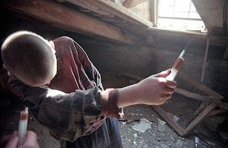 Deca narkomani, heroinski zavisnici u sent petersburgu
