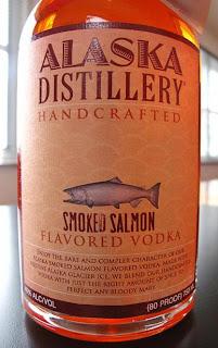 Slika dana votka sa ukusom dimljenog lososa je novi hit na  aljasci