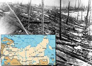 Carstvo misterija Tunguska-eksplozija