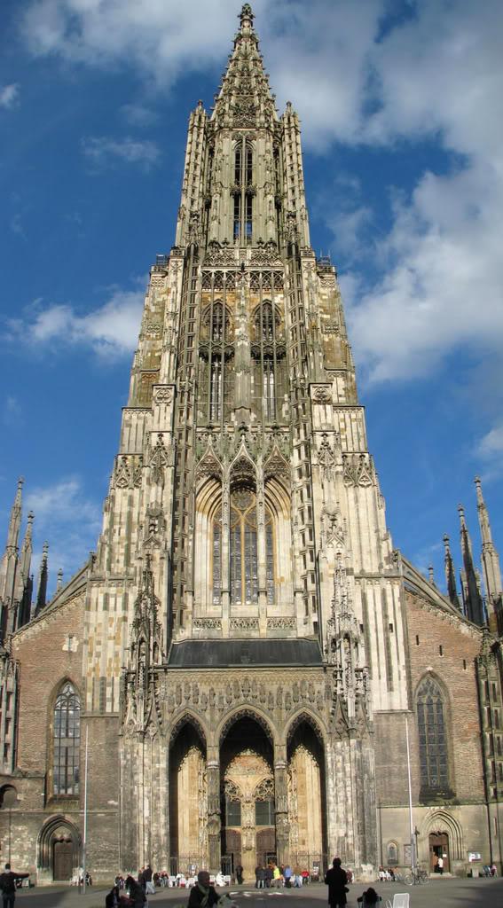 Najlepše crkve i katedrale  - Page 2 Ulm-minster