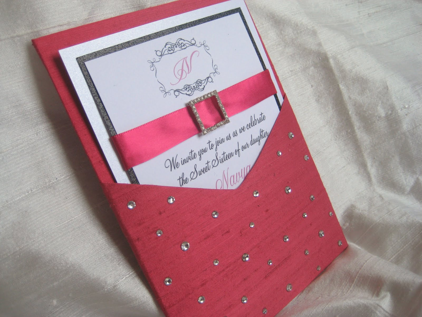 Revelry Invitation Studio Chatter: Diamonds Are a Girl\'s Best Friend ...