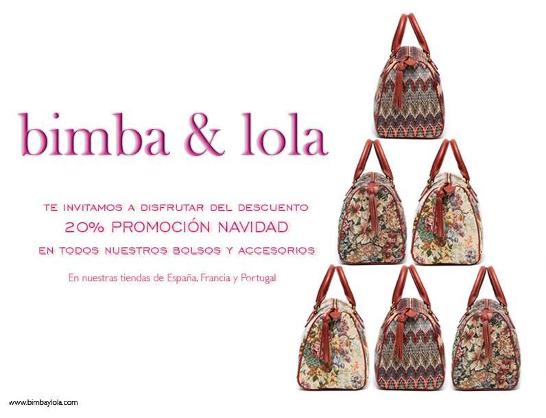 BIMBA Y LOLA ... promoción navidad