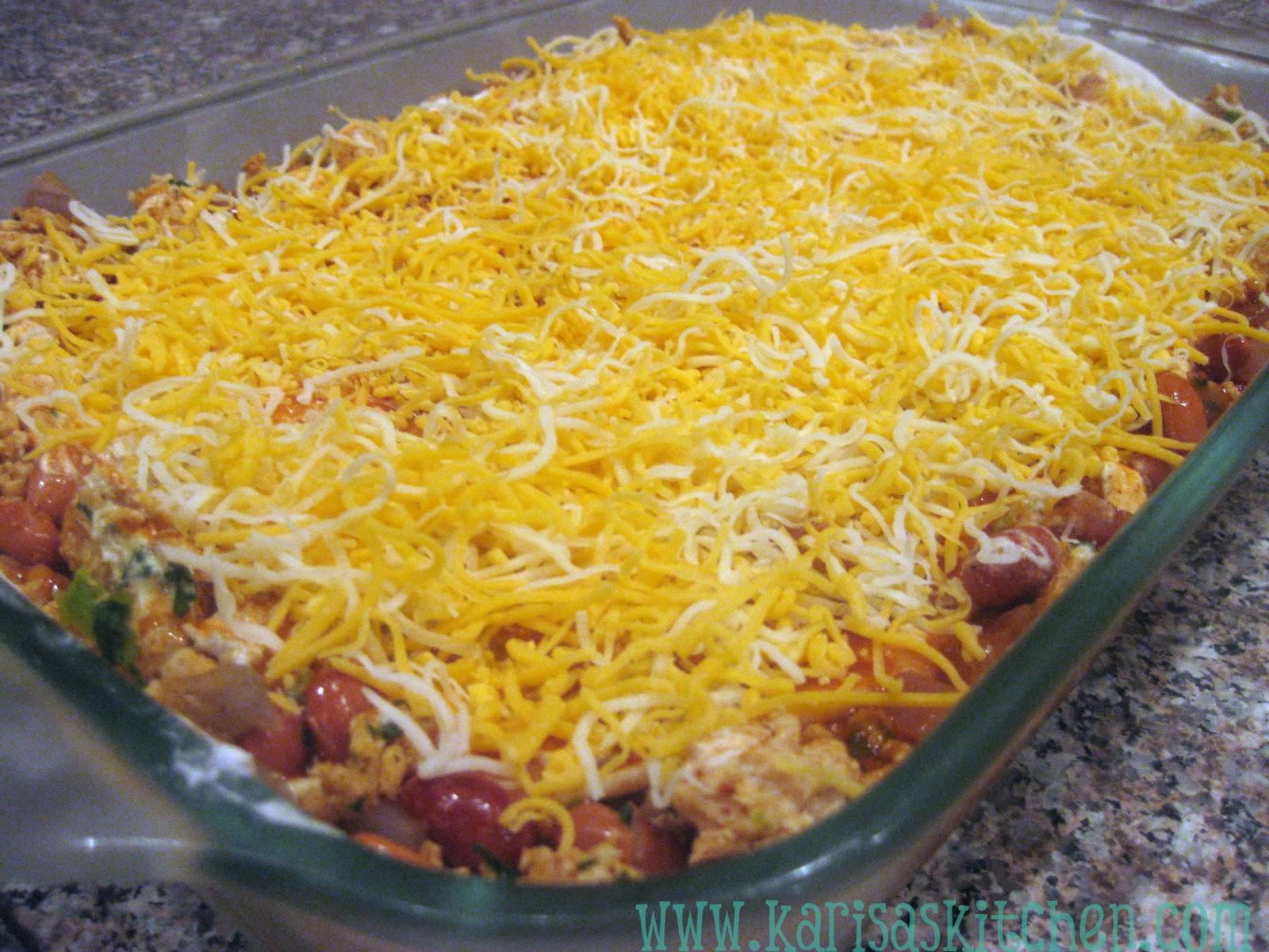 Karisa's Kitchen: Beef and Bean Enchilada Casserole
