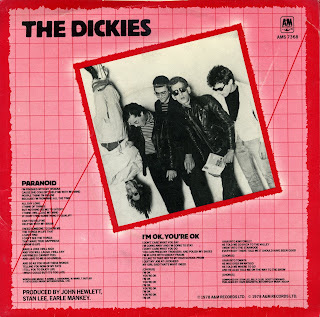 The Dickies Paranoid