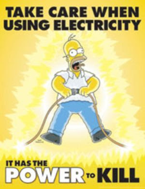 Funnyimage,Funnyvideo and more.: Simpsons Safety Posters