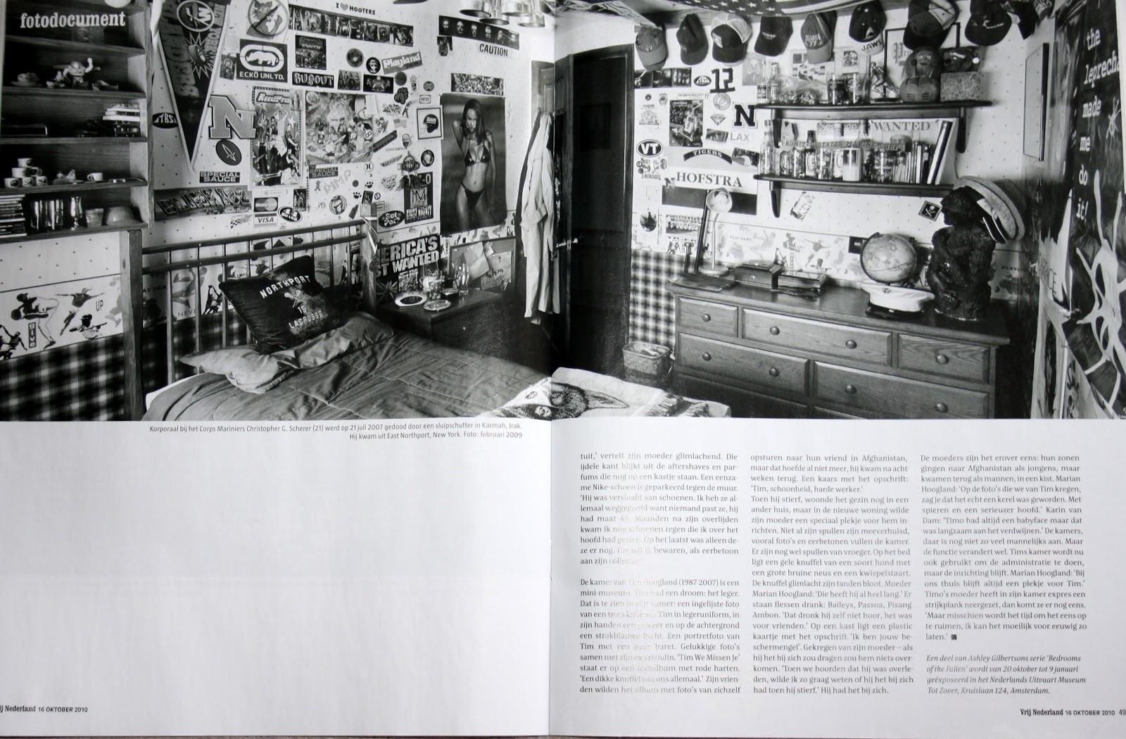 bint photobooks on internet bedrooms of the fallen ashley gilbertson