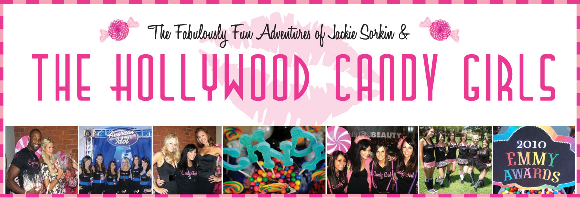 Jackie Sorkin's Fabulously Fun Candy Girls, Candy World, Candy Buffets & Event Industry Bl