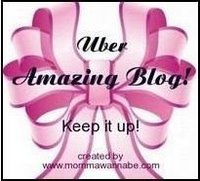 Uber Amazing Blog Award