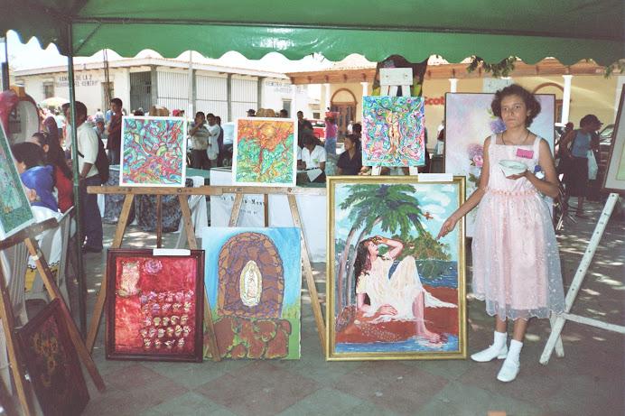 Inicio de la vida artìstica de Ana Lucìa