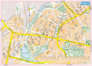 Rivne karta