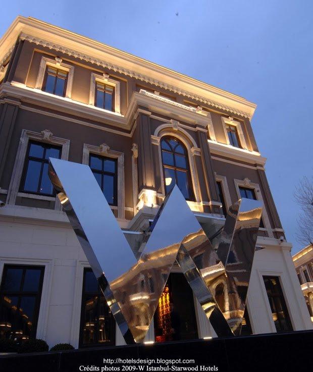 W Istanbul_1_Les plus beaux HOTELS DESIGN du monde