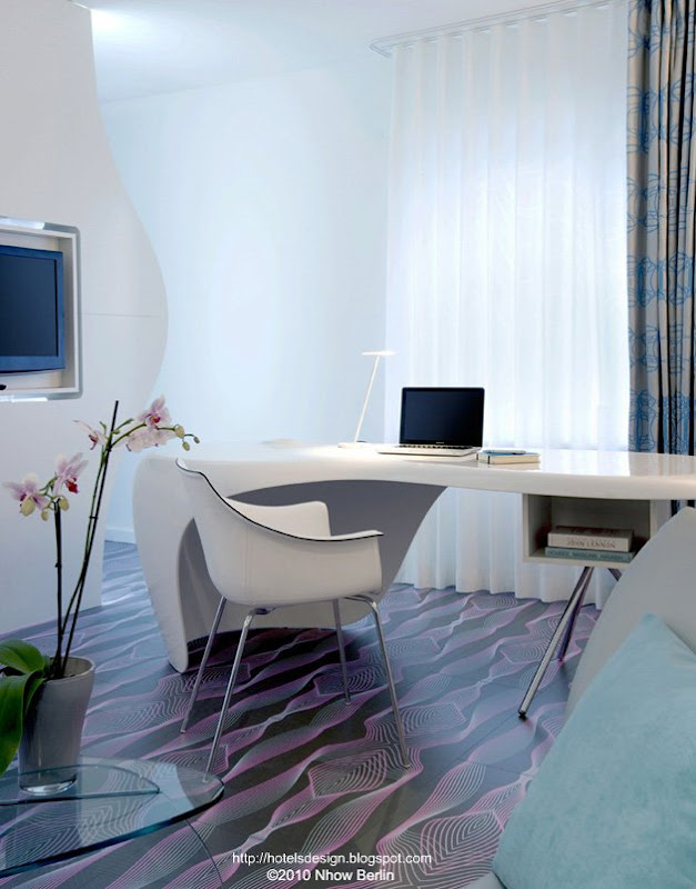 Les plus beaux hotels design du monde h tel nhow berlin for Chambre design vip