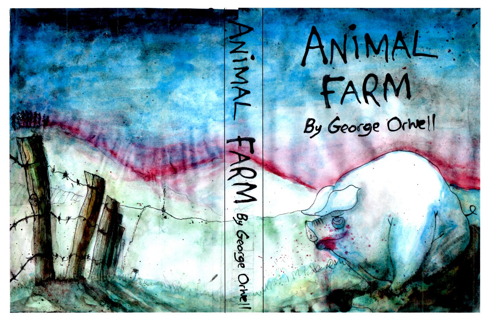 the use of foreshadowing in animal farm a novel by george orwell Finally getting to read this book george orwell -animal farm animal farm foreshadowing graphic organizer this animal farm, george orwell all animals are.