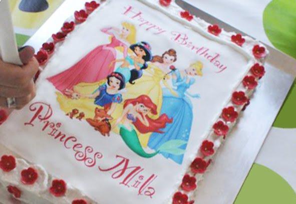 kukisfiesta: Una tarta para una princesa