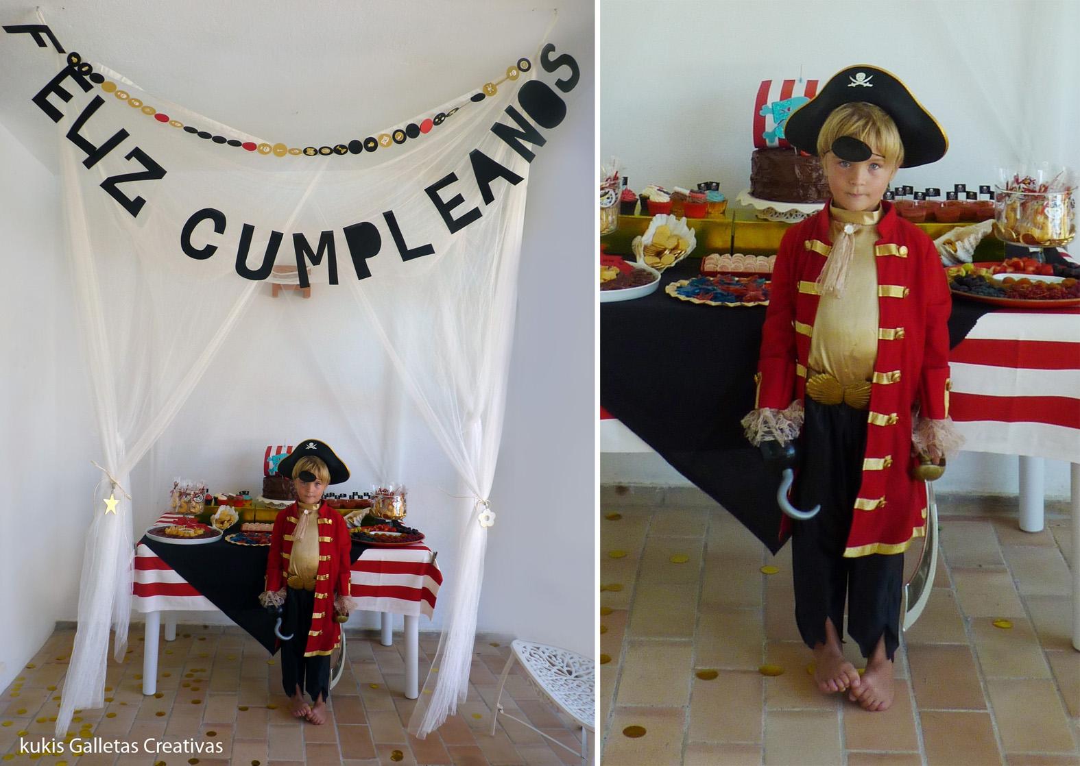 kukisfiesta: El pirata Joaquín cumple 5 años!!