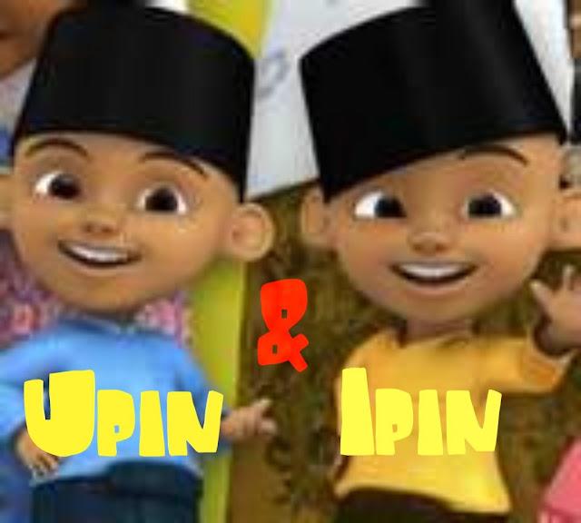 Gambar Kartun Ipin dan Upin