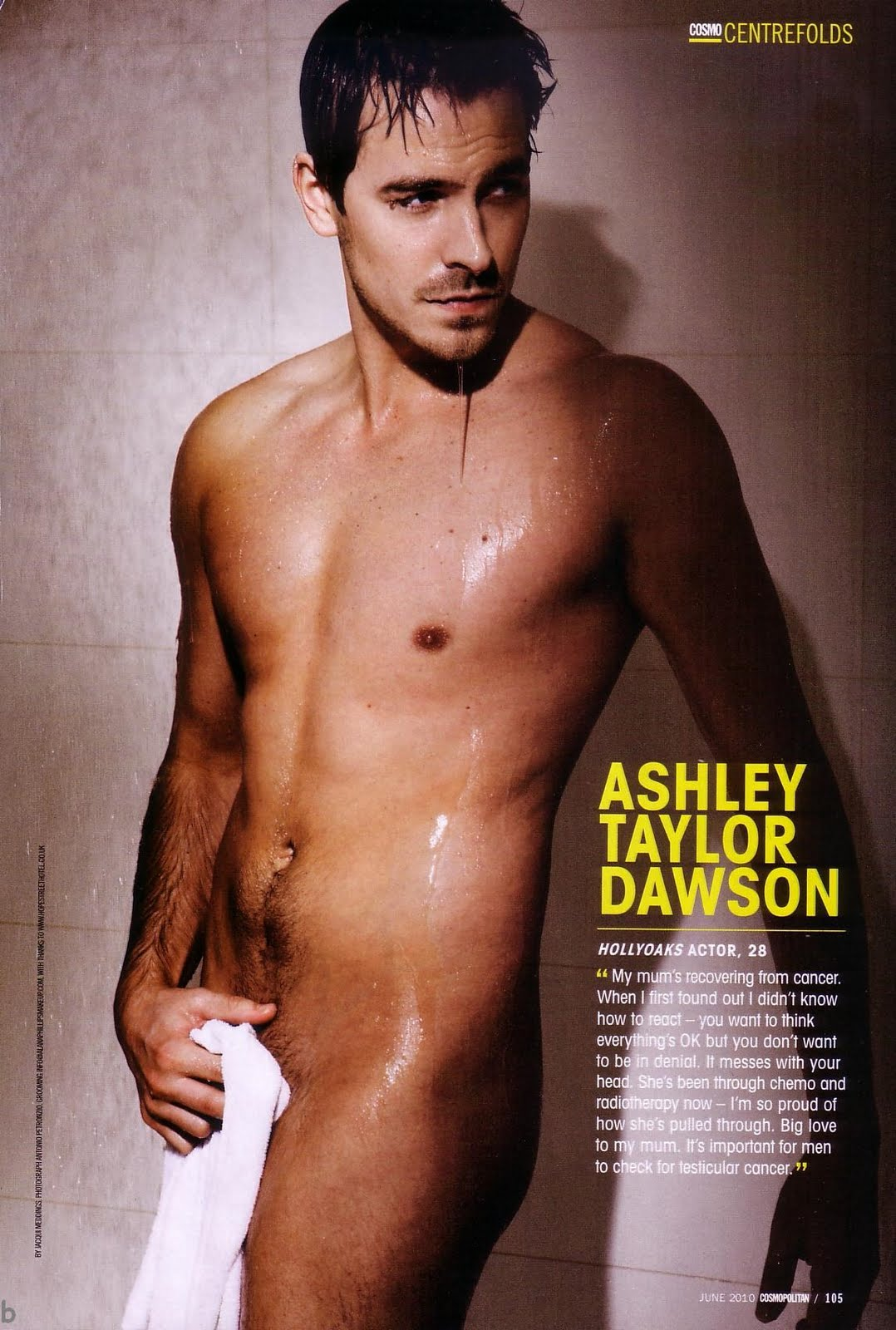 Ashley Taylor Dawson - UK Cosmo