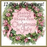 12 Days of Giveaways during Christmas in July! Enter Here!