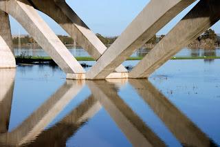 Detalle del viaducto del ferrocarril
