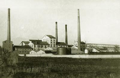 Azucarera del Jalón. Épila (Zaragoza)(1925): Vista general