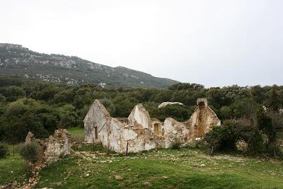 Ruinas de la antigua venta