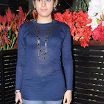 Archana Spicy in Transparent Blue  Dress Photo Set