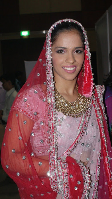 exclusve sania nehwal in bridal rwalk photo gallery