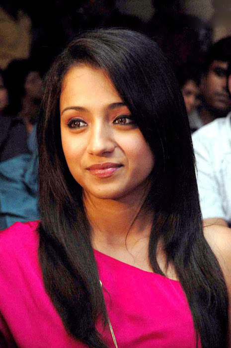 trisha spotted in pink at a event photo gallery