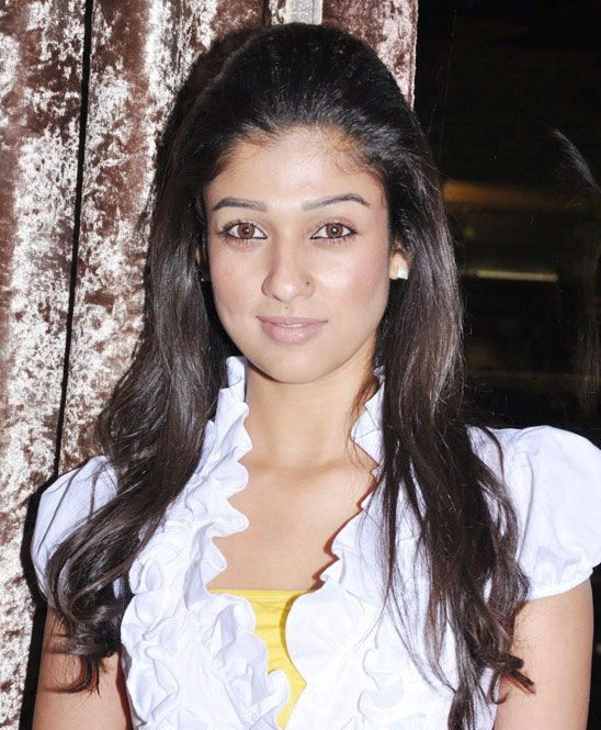 nayanatara in white dress glamour  images