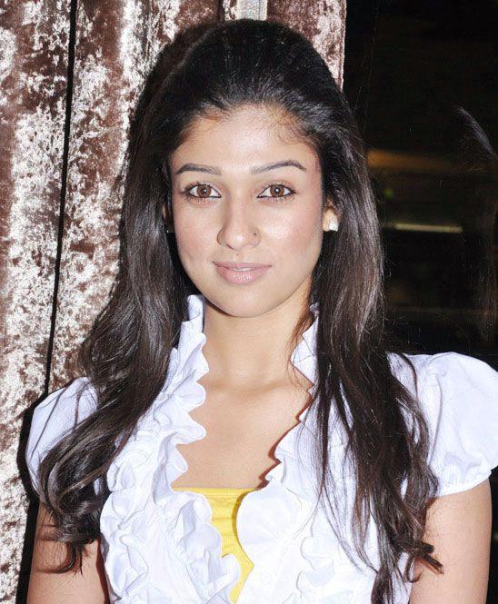 nayanatara in white dress glamour  images