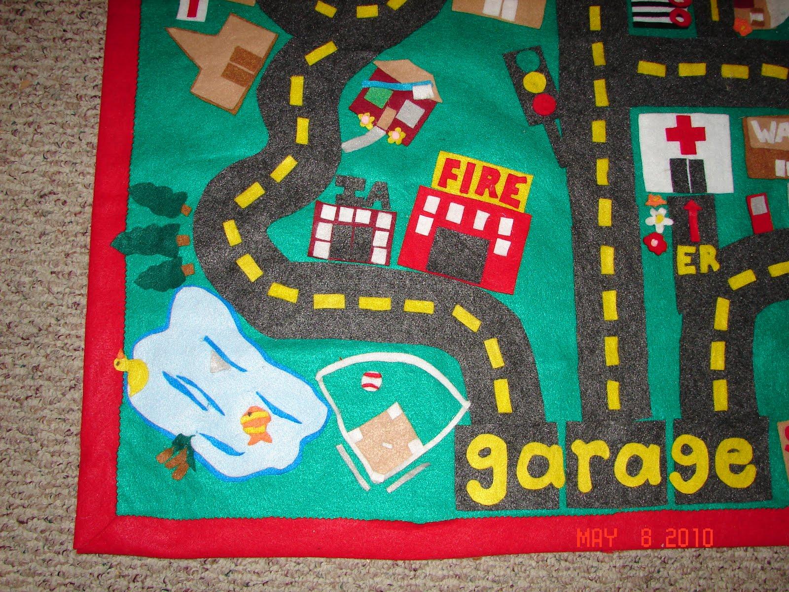 car mat - A girl and a glue gun
