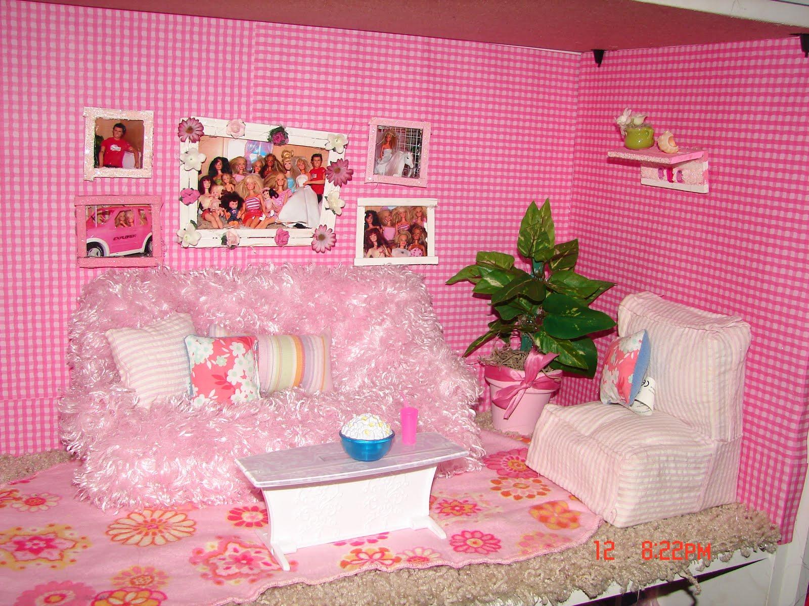 Бумажная мебель для кукол 70