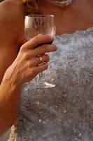 foto sposa vino