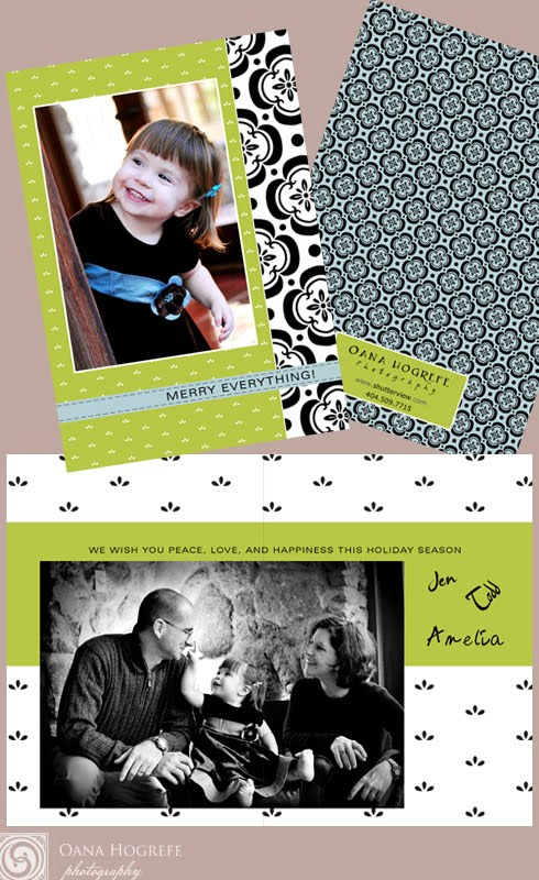 custom holiday cards photographer atlanta