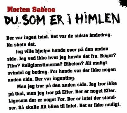 Citat død sorg ord w i dansk