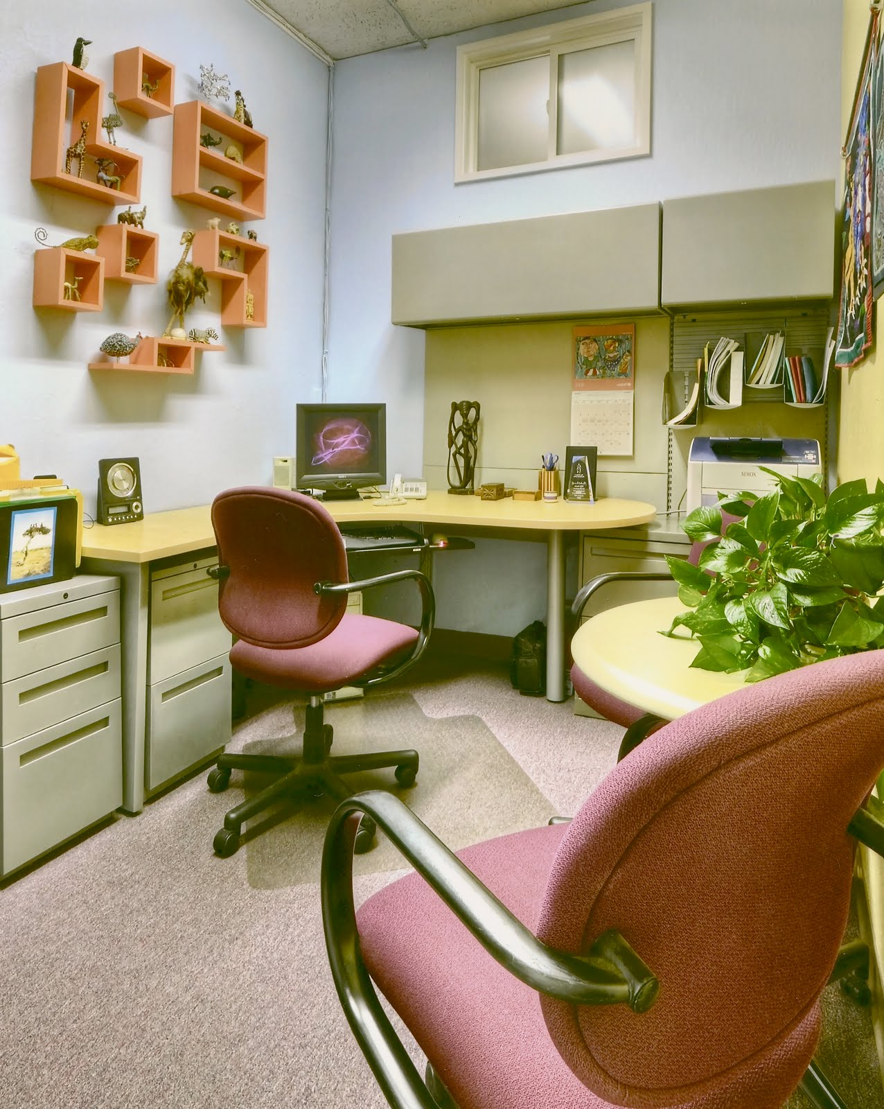 how to create a peaceful corporate office space