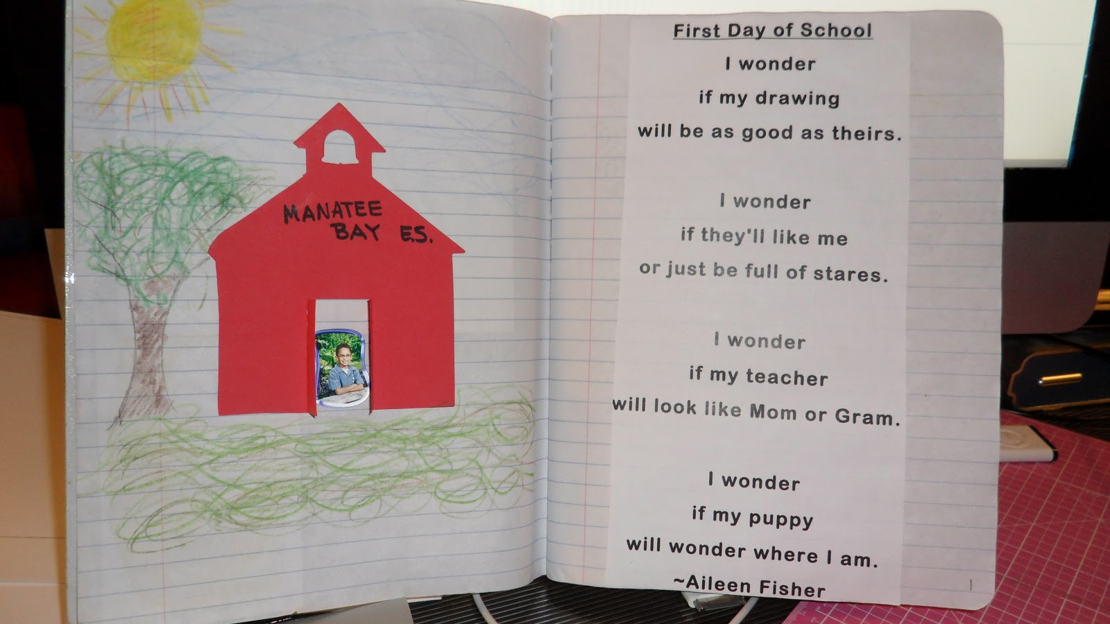 START SMART WEEK 1: First Day of School Poem and Activity