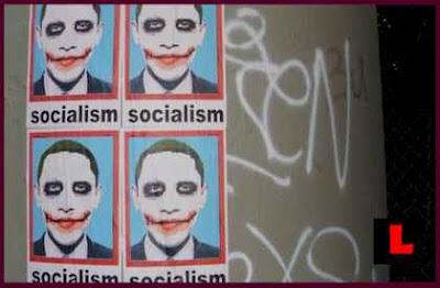 Poster Barack Obama Mirip Jocker