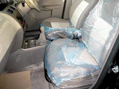 Tata Manza Front Seat Image