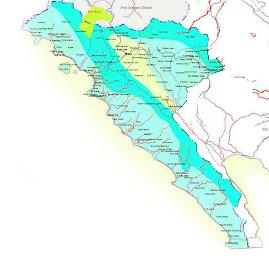 Peta Lampung Barat