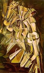 Desnudo bajando una escalera (1911)