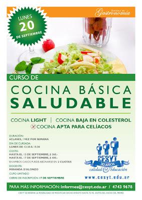 Gastronom a curso de cocina b sica saludable inicio 20 9 - Curso cocina basica ...