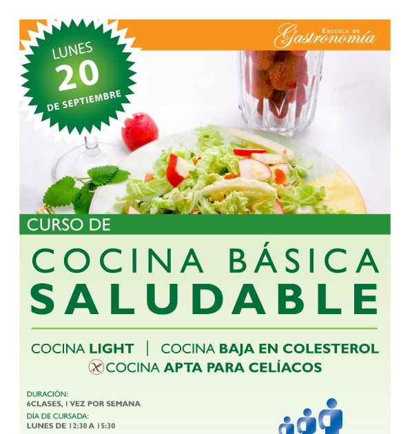 gastronom a curso de cocina b sica saludable inicio 20 9