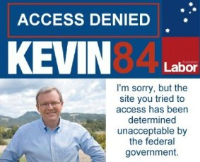 Stop Rudd&#39;s internet censorship
