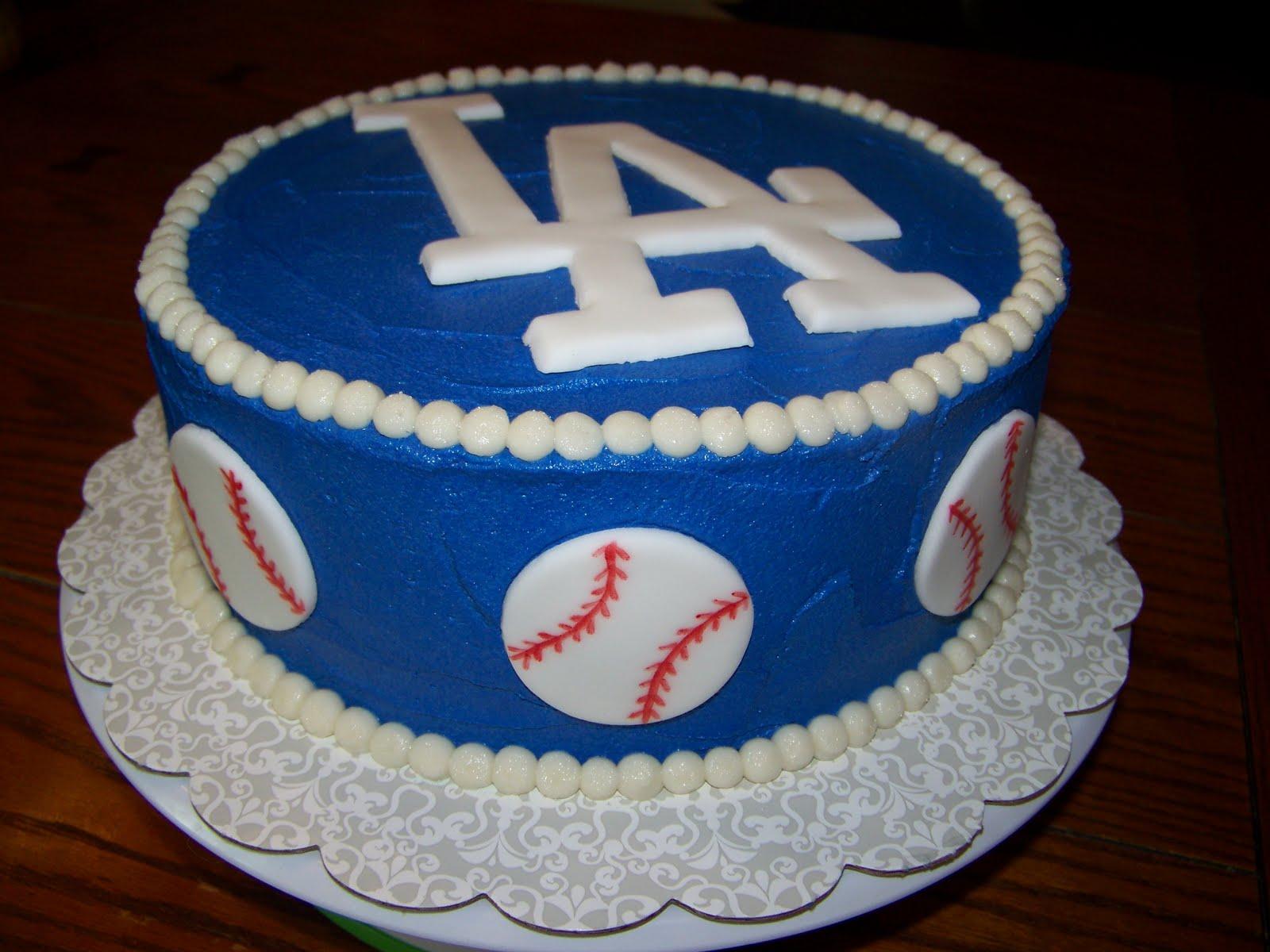 Dodger Cake Decorations