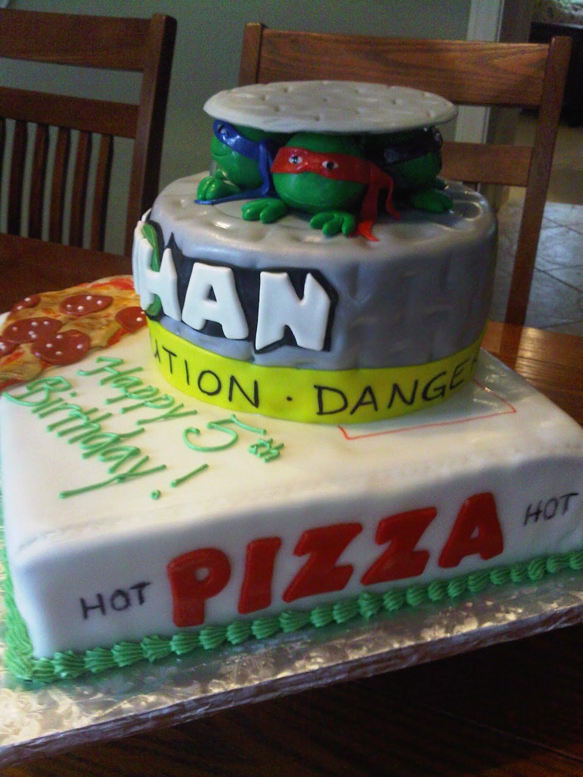 Plumeria Cake Studio Teenage Mutant Ninja Turtles Birthday Cake