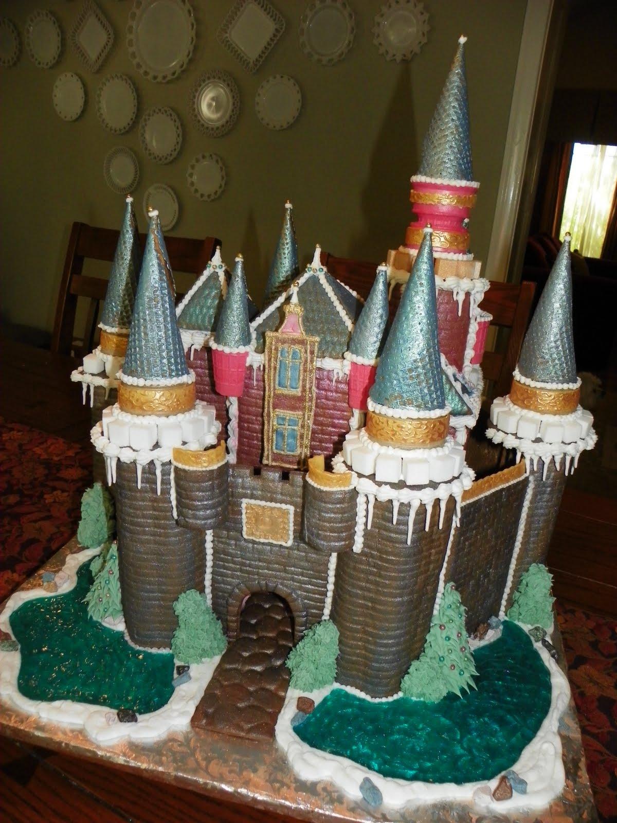 Plumeria Cake Studio Gingerbread Castle 2010