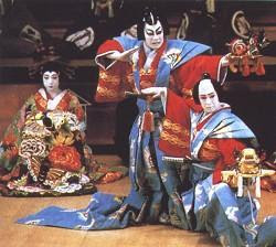 an overview of kabuki a japanese theater form Japanese theater: a power point about the different forms and influences of japanese theater kabuki kabuki is a more populist form of theater, than noh, which is more elite.